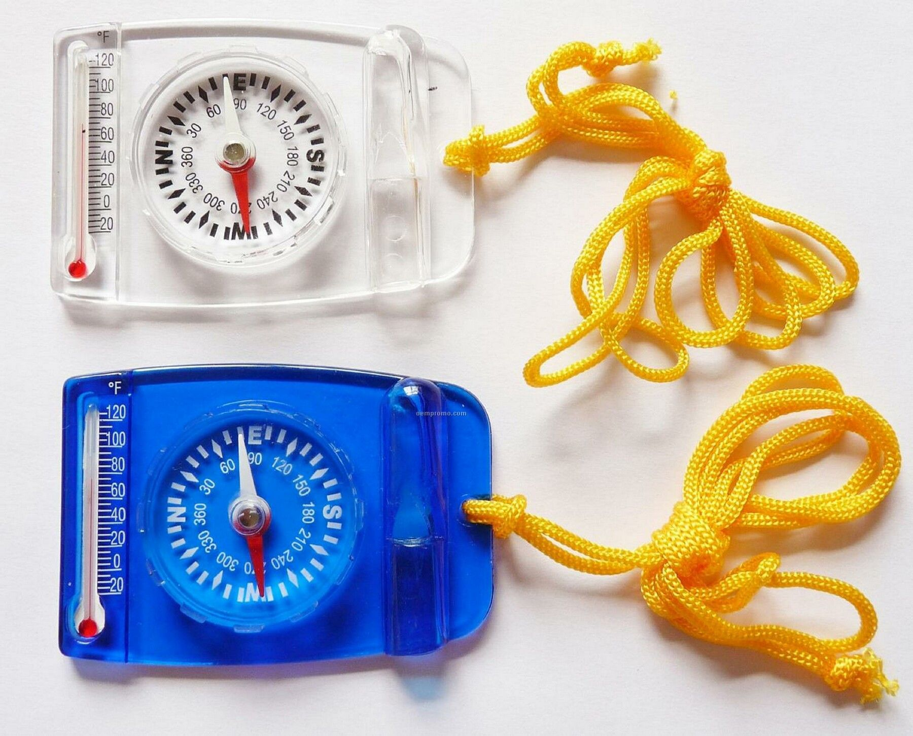 Whistle, Compass & Thermometer 3-in-1 Outdoor Kit