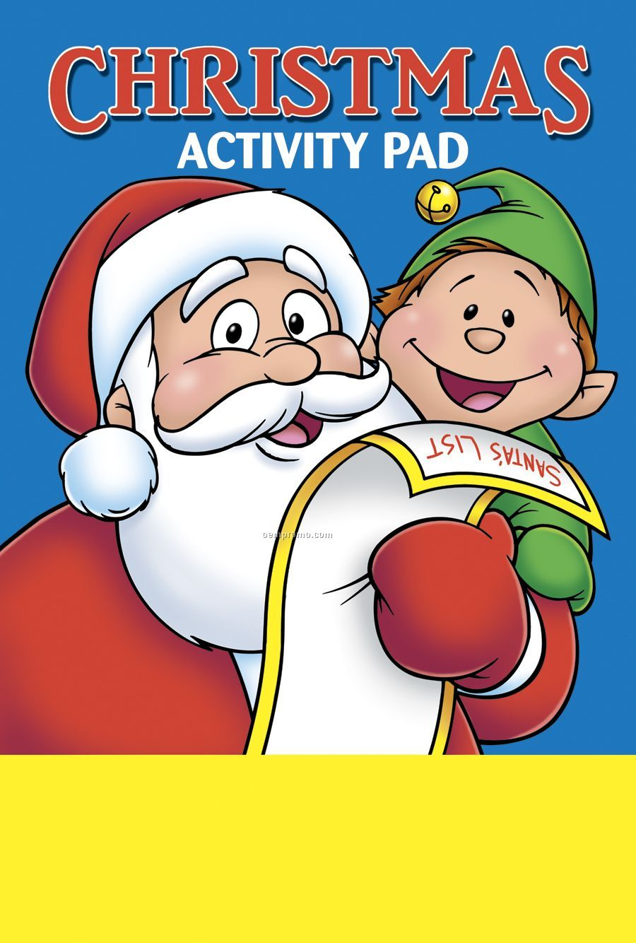 Christmas Activity/Coloring Book