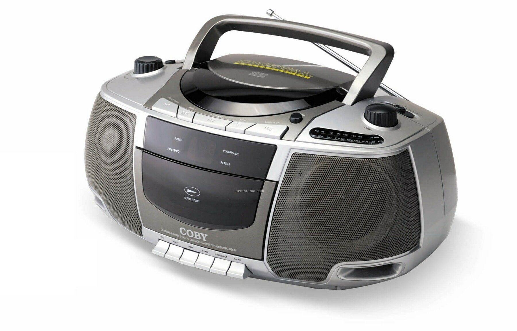 Portable CD/Radio/Cassette Player/ Recorder