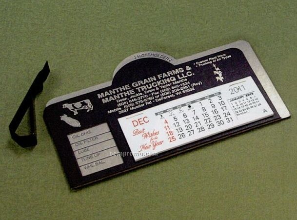 Daytona Nu-leth-r Desk Calendar (After April)