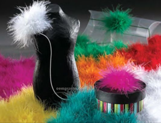 Feather Boas Bows