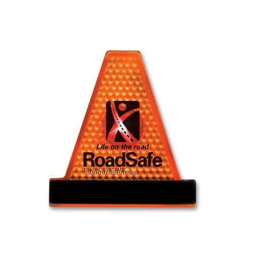 Orange Safety Cone Strobe