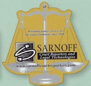 Scales Of Justice Flexible Magnet
