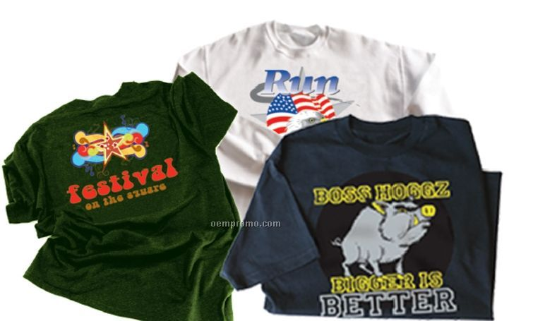 Screen Printing Charges For T-shirts (3 Color/ 1 Location)