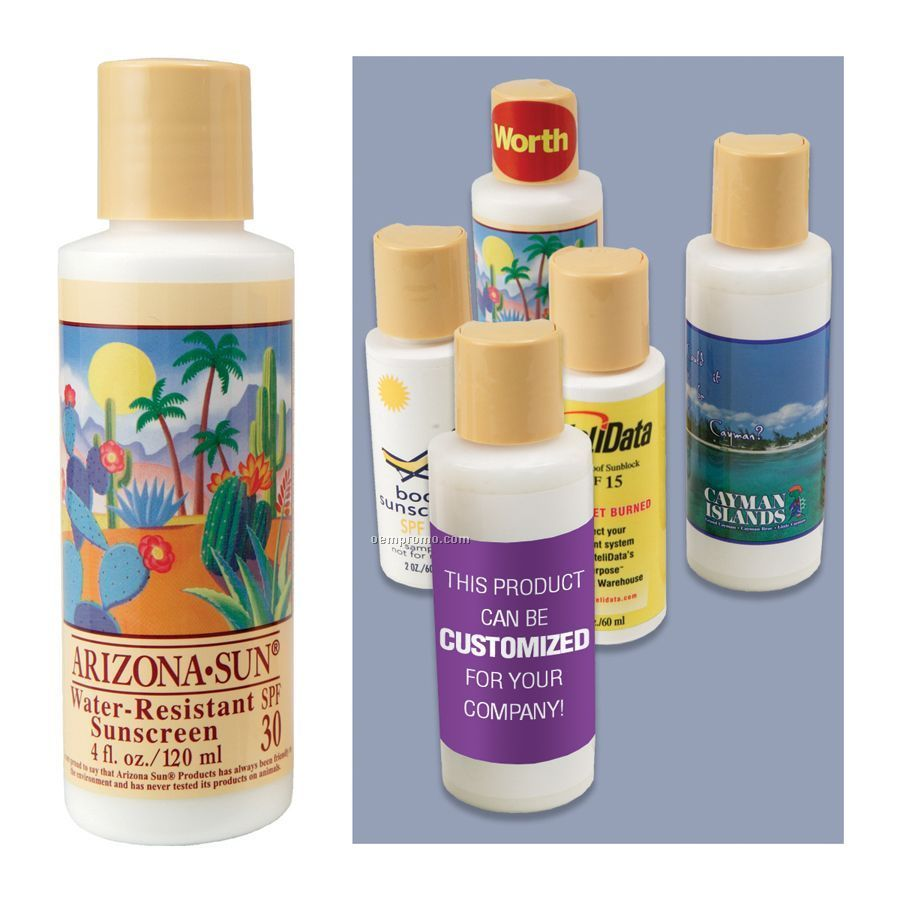 4 Oz. Water Resistant Sunscreen With Spf 30