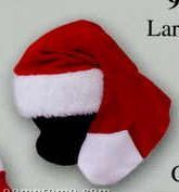Holiday Fun Promotional Fleece Stocking Hat With Fur Cuff