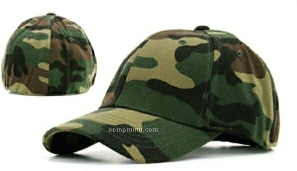Ultra Fit One Camouflage Cap (One Size Fits Most)