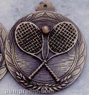 "1.5"" Stock Cast Medallion (Tennis Racquets)"