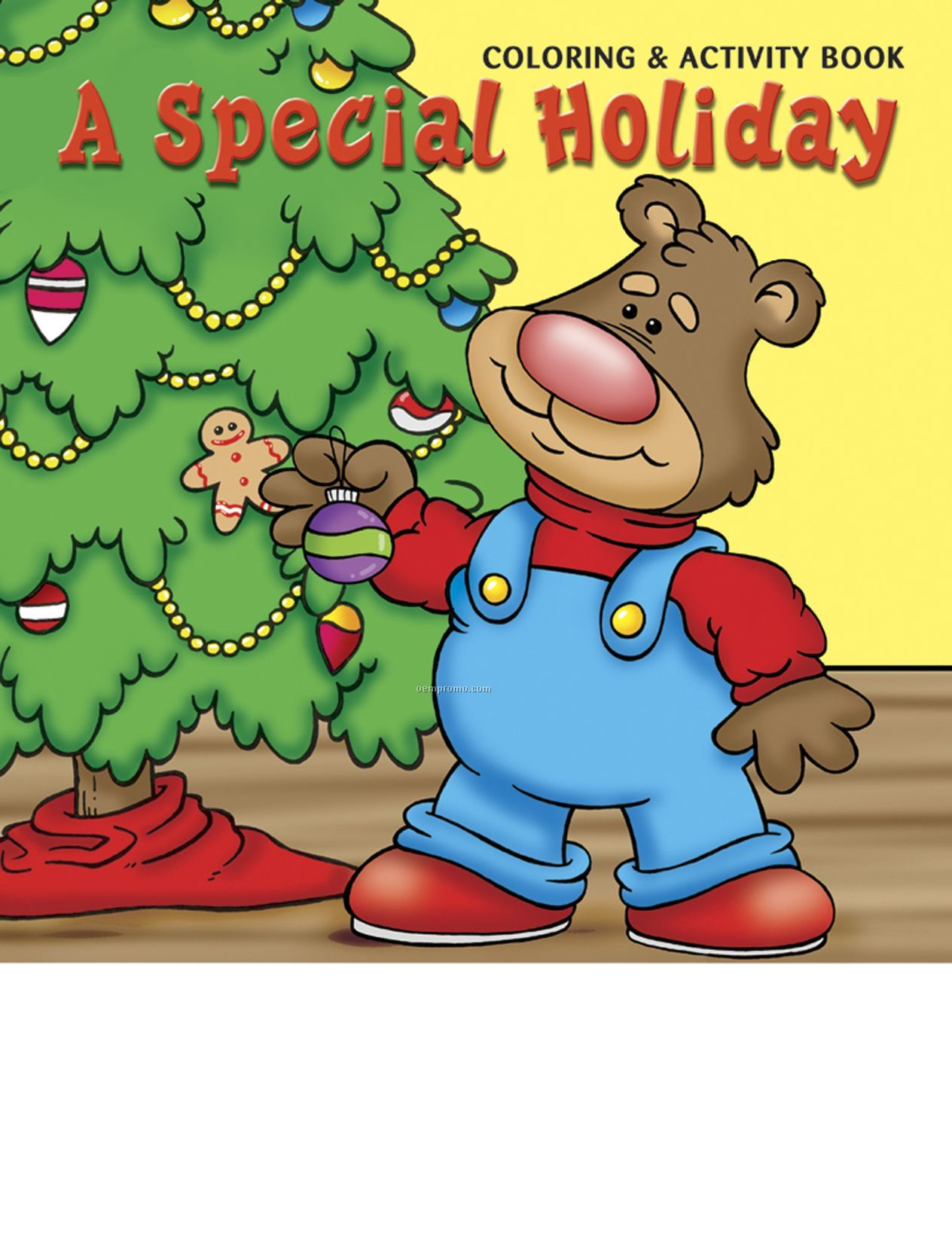 A Special Holiday Coloring Book