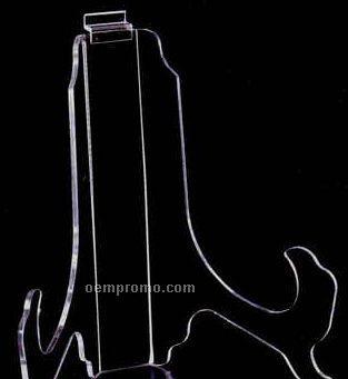Acrylic Wide Back Slatwall Display Easel (6