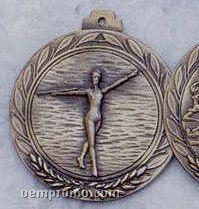 "2.5"" Stock Cast Medallion (Twirling)"
