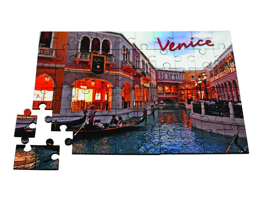 """30 Piece Wood Personalized Puzzle 7""""X10"""""""