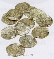 Gold Plastic Doubloons