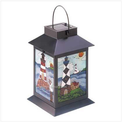 Scenic Lighthouse Solar Lantern