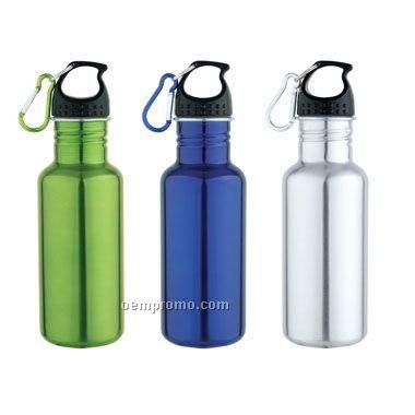 20 Oz Stainless Steel Bottle (Siikscreen)