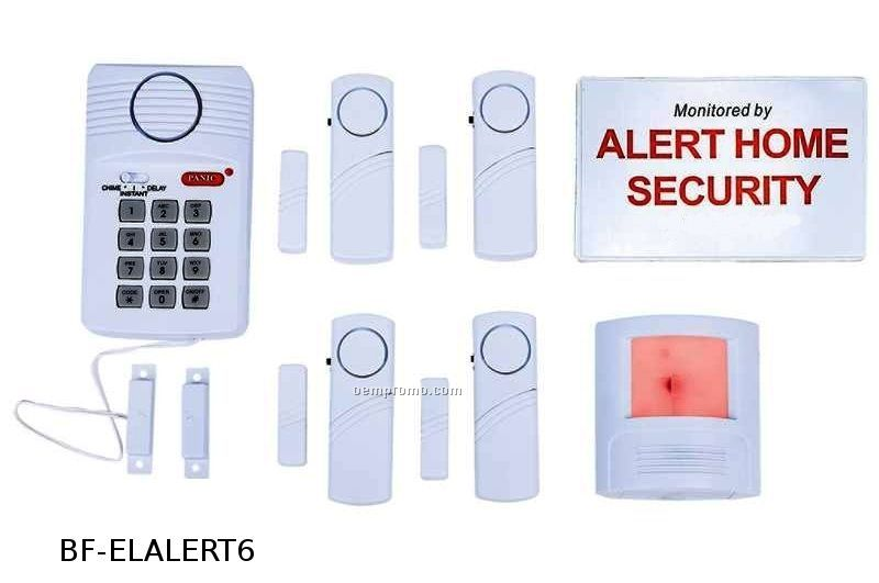 6 Piece Home Security System