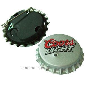 Flash Bottle Cap Badge
