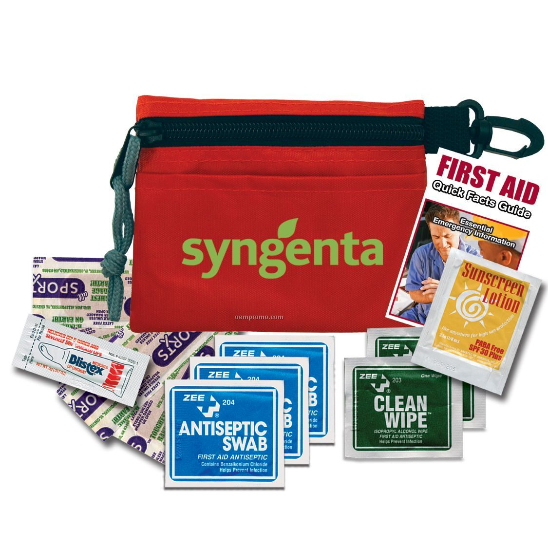 Outdoor First Aid Kit W/Sunblock