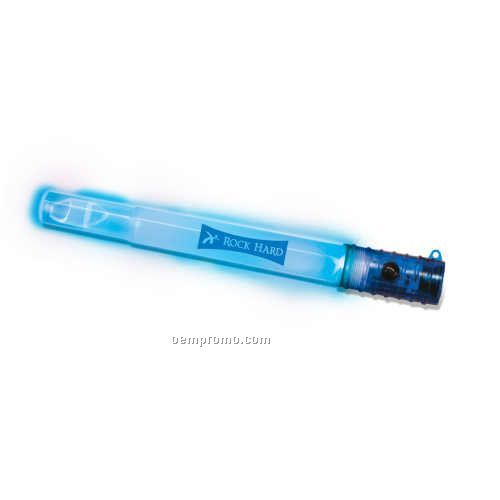 Blue LED Strobe/Whistle Wand
