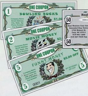 Funny Money - 1 Standard Color Ink