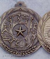 "1.5"" Stock Cast Medallion (Victory Star/ Female)"