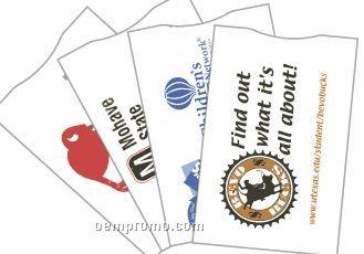 Black Or Reflex Blue Custom Defender Credit Card Sleeve