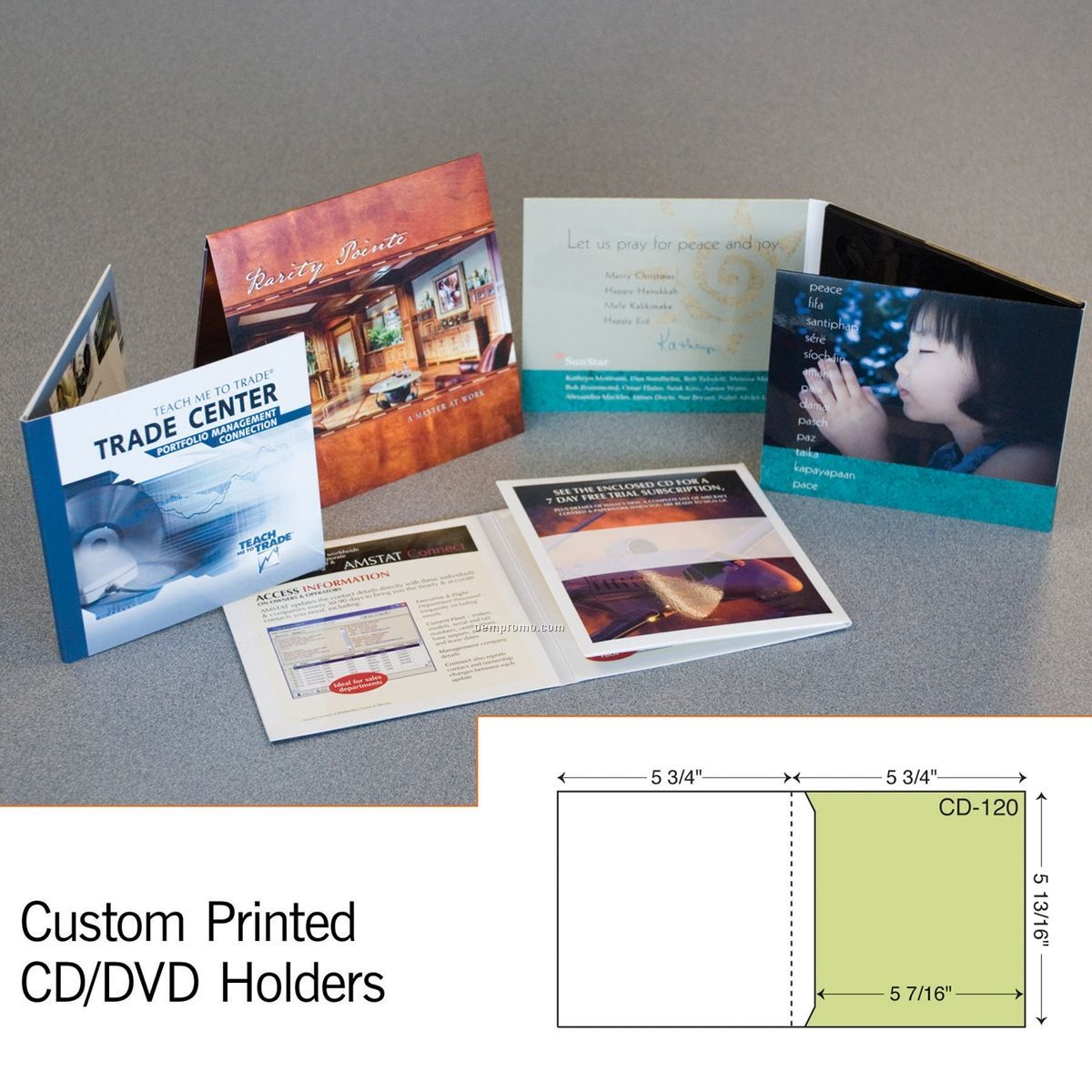 CD Sleeve Mailer W/ Full Copy Panel (1 Color/1 Side)