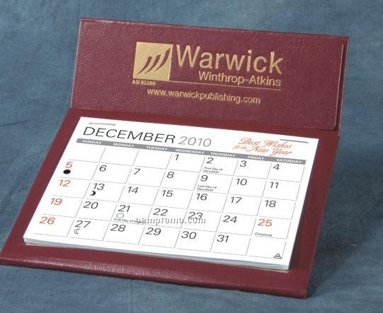 Citation II Nu-leth-r Desk Calendar (After April)