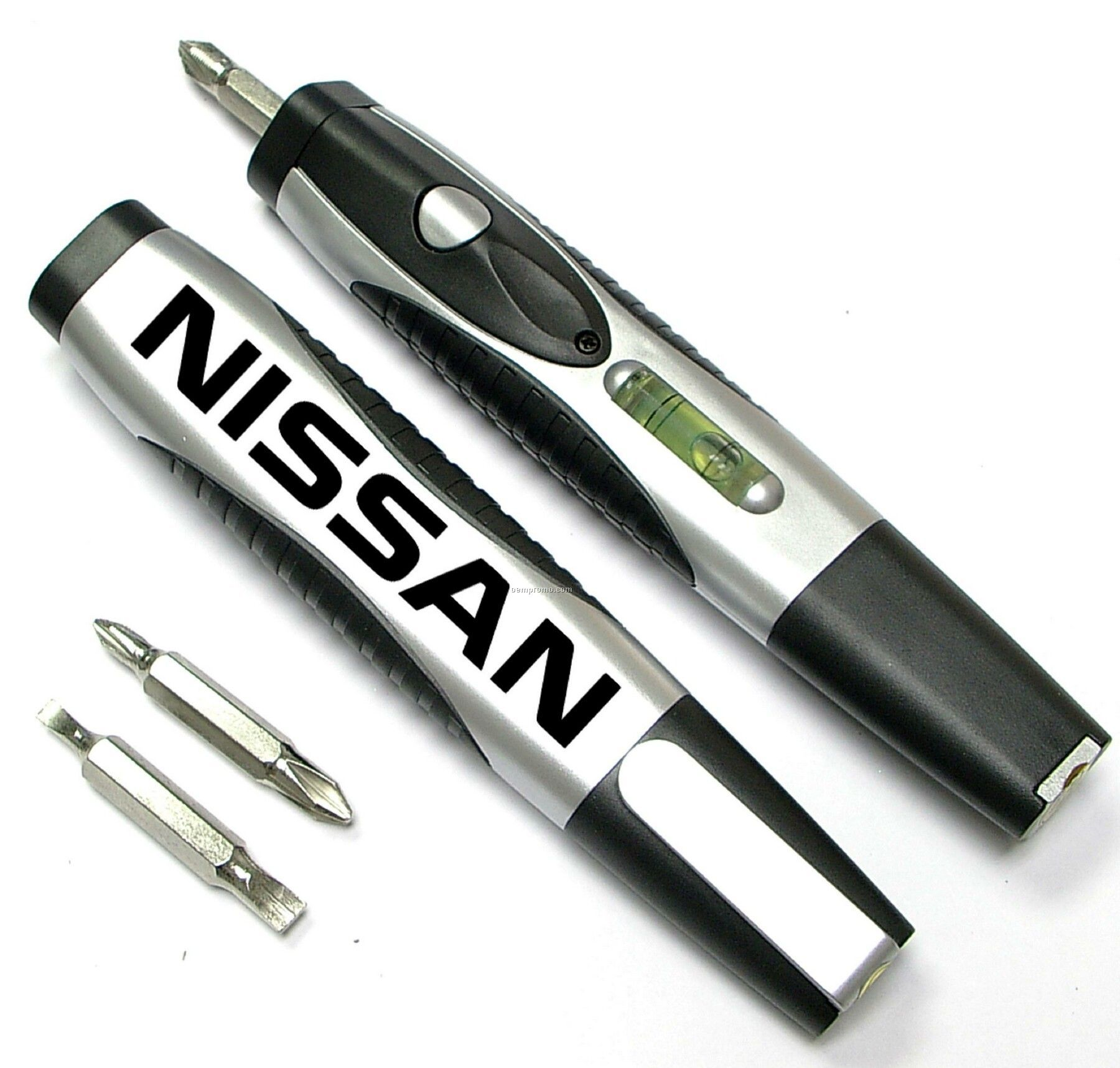 Screwdriver With Level And LED Flashlight