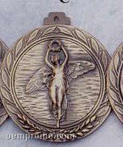 "2.5"" Stock Cast Medallion (Victory/ Female)"