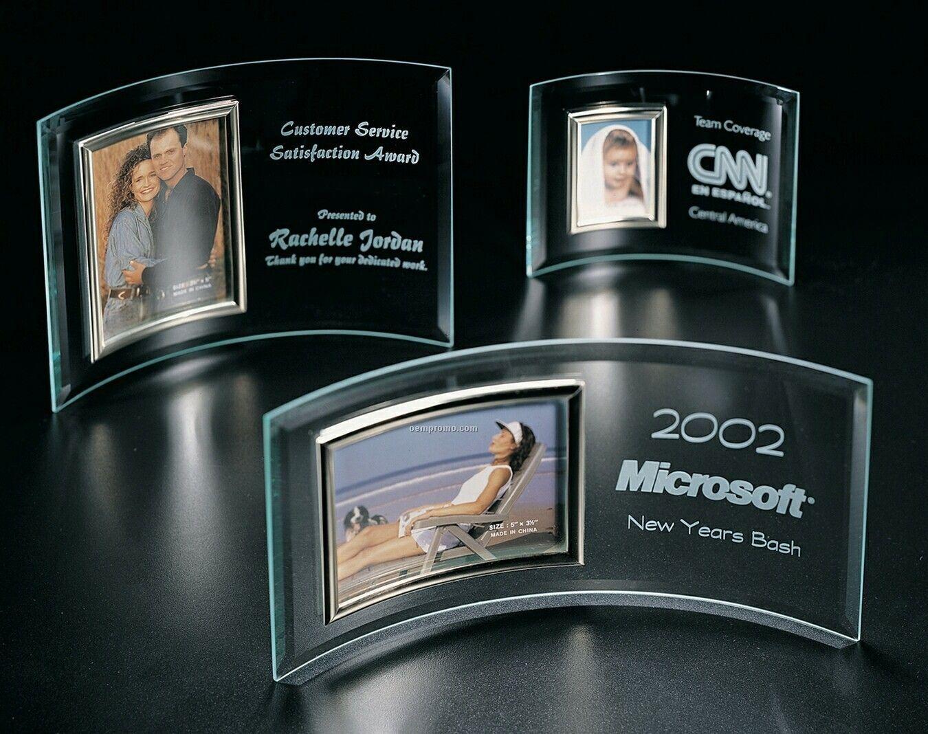 "Glass Photo Display Award (Photo: 4""X6"")"