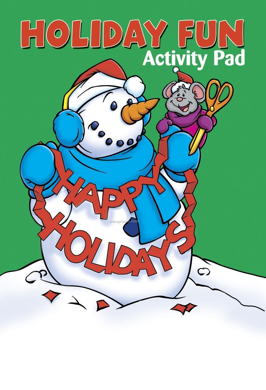 Holiday Fun Activity/ Coloring Book Fun Pack