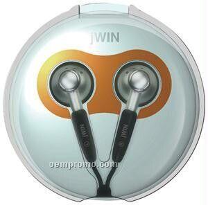 Jwin New Digital Stereo Earphone W/Case