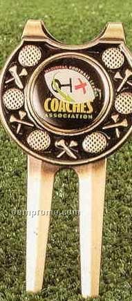 Ultimate Golf Gadget (Bronze Antique W/ Color Fill)