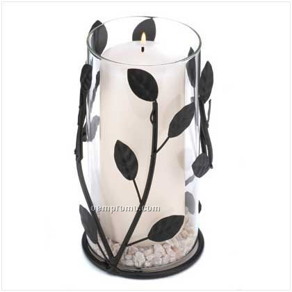 Medium Laurel Branch Candle Lantern