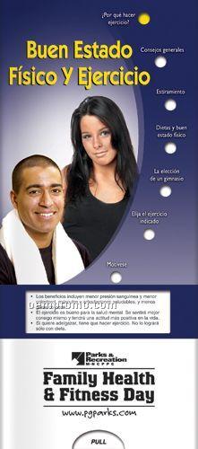 Spanish Pocket Slider Chart - Fitness & Exercise