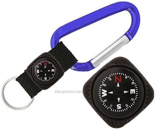 Carabiners W/Compass