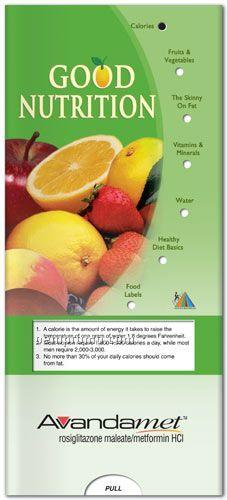 Pocket Slider Chart - Good Nutrition