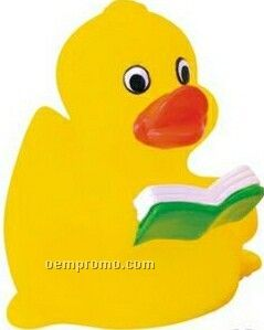 Rubber Learning/Reading Duck Toy