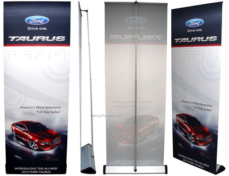 Banner Stand - Alligator Ultra Premium Single Sided