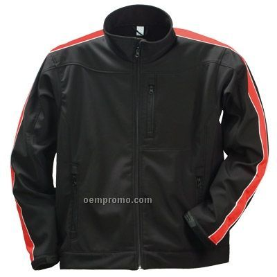 Wind Proof/Water Resistant Soft Shell Jacket