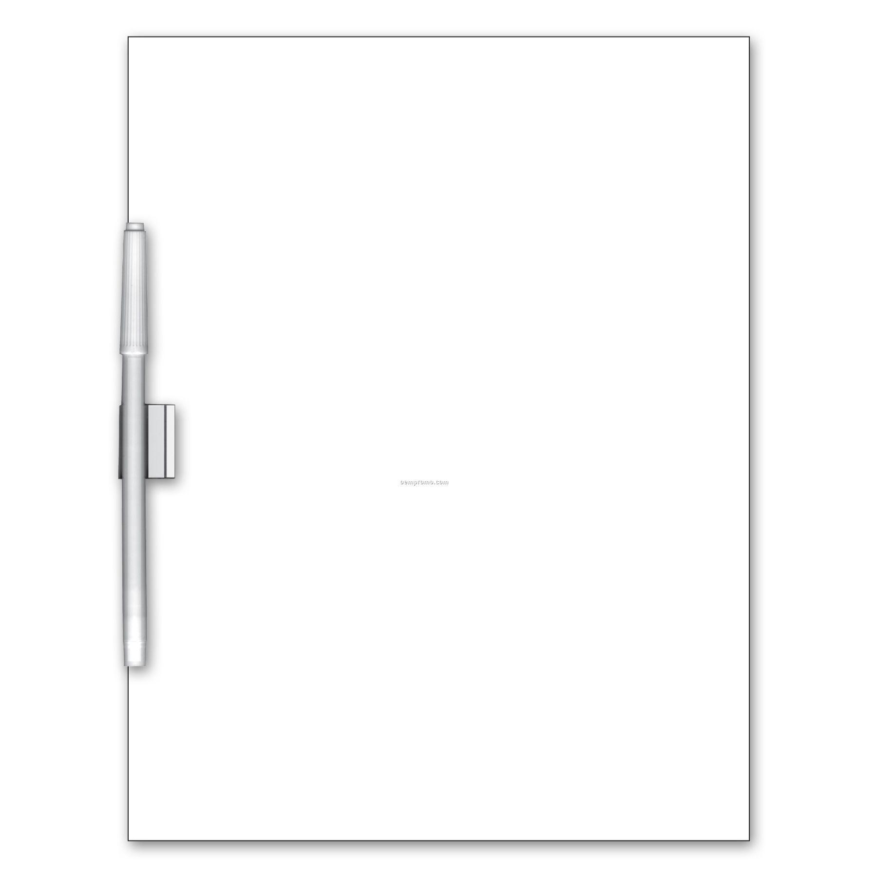 "Write On/ Wipe Off Memo Board (11""X8 1/2"")"