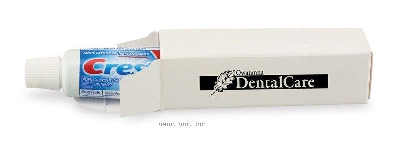 0.85 Oz. Crest Toothpaste Tube In Carton