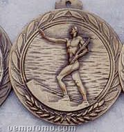 """2.5"""" Stock Cast Medallion (Victory/ Male 1)"""