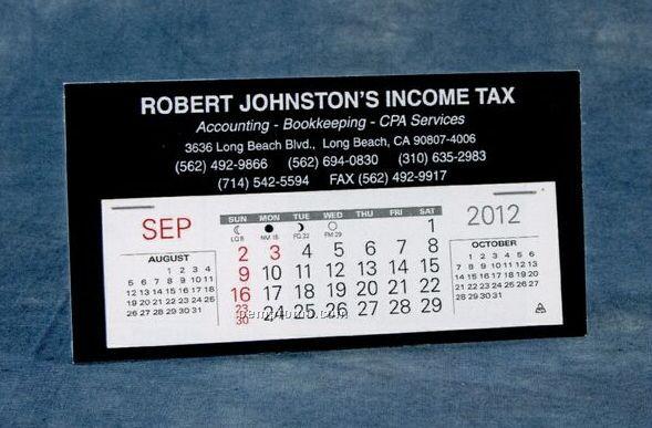 Economizer Nu-leth-r Desk Calendar (January - April)