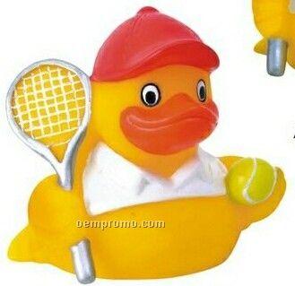 Rubber Tennis Duck