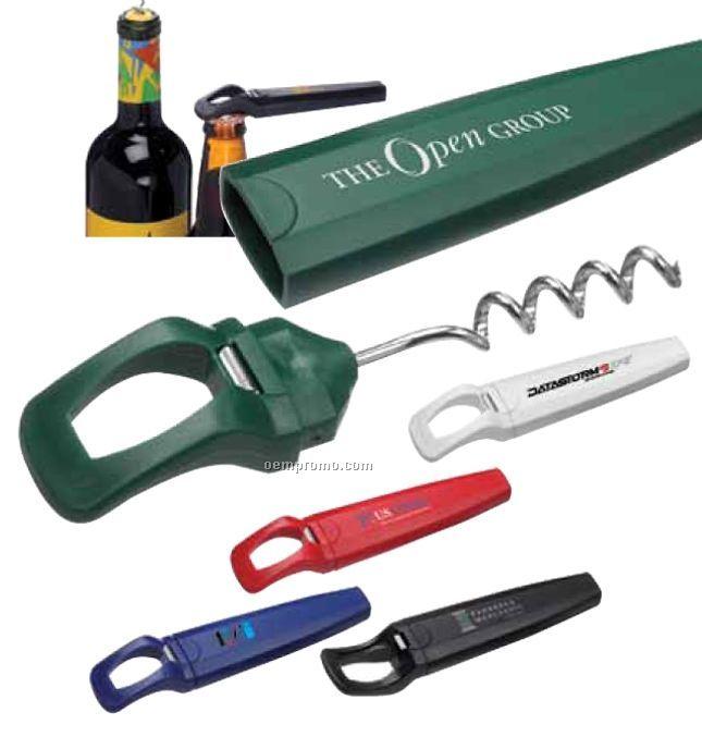 The Transformer Bottle Opener/ Corkscrew
