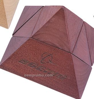 Rose Wood Pyramid Puzzle