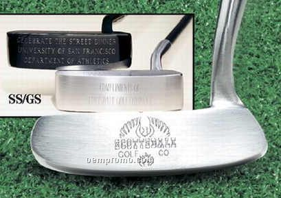 Scottsdale Putter With Stainless Steel Finish