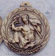 "2.5"" Stock Cast Medallion (Victory/ Male 2)"